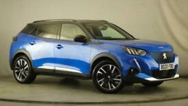 image for 2020 Peugeot 2008 50kWh GT Line Auto 5dr SUV Electric Automatic
