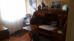Almira Roll Top Desk