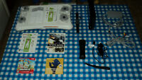 Black Nintendo Wii+Wii fit plus, balance board and more