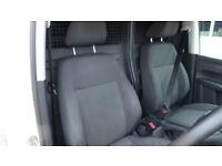 2015 Volkswagen Caddy 1.6TDI 102PS C20 Startline BMT White Diesel Van