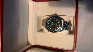 Omega Seamaster Planet Ocean 600M Omega Co-Axial 42mm Blck steel