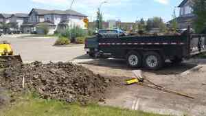 Residential/commercial Junk Removal/MOVING/Movers/ storage /dirt Edmonton Edmonton Area image 1