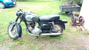 1962 Sears Allstate 250cc Puch Motorcycle
