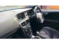 2014 Volvo V40 D2 R DESIGN Lux 5dr with Rear Manual Diesel Hatchback