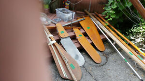 5 SMALL SAILBOATS + TRAILER  - EXCELLENT PRICES $180  TO  $350
