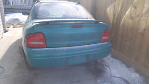Beatrice the 1997 Plymouth Neon