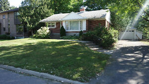 Short term house for rent close to Ottawa General hospital