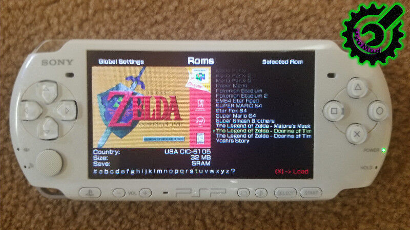★PSP / PSP Go Modding Service! Play All SNES, PS1, N64 Portably!