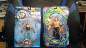 2001-2002 WWE or WWF old or rare Action Figures in packaging