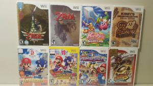 Nintendo Wii Games (Prices as Marked)