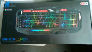 Like New Xtreme Gaming Light Up Gaming Keyboard