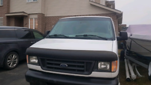Selling 2003 Ford E250 Work Van