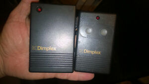 Dimplex Remote Control Transmitter and Plug-in Receiver