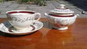 Sovereign potters earthenware china set