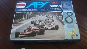 Vintage AFX GX1100 complete racing set. open but never used