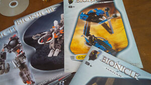 Nine Bionicle Lego Pattern Books, Lego Technic Kitchener / Waterloo Kitchener Area image 3