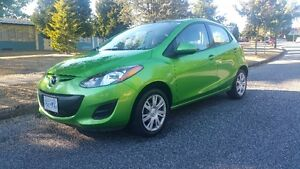 2011 Mazda2 only 62,000Km must sale 7800$ obo