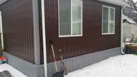 Garage Roof and Siding -METAL PANELS