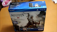 LIMITED EDITION ASSASSINS CREED PS3 WITH 500 GB HARD DRIVE