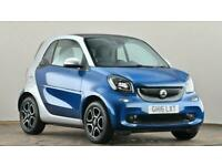 2016 smart fortwo coupe 0.9 Turbo Prime 2dr Small petrol Manual