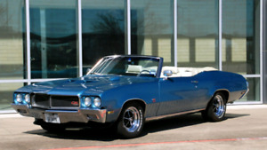 Projet 1970 buick gs 455 convertible