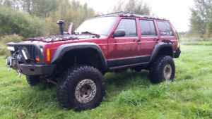 Sale pending. 1997 BUILT JEEP XJ CRAZY MOD MUST SEE