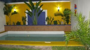 House W/Pool, for rent, in Merida Yucatan Mexico
