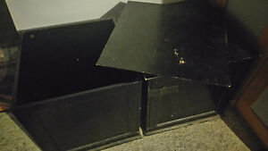 Two Ikea coffee tables/end tables/storage bins Peterborough Peterborough Area image 2