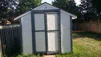 Wood Shed: 8ft x 12ft