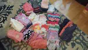 Baby girl fall/winter clothes lot