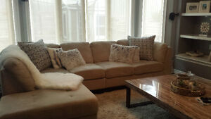 Microsuade sectional