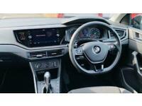 2018 Volkswagen Polo 1.0 TSI SE DSG (s/s) 5dr Hatchback Petrol Automatic