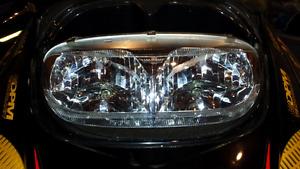 Headlight assembly from MXZ 700