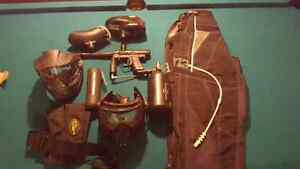 entire paintball gear set