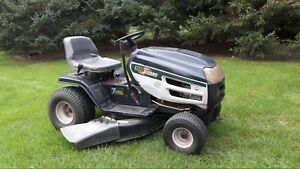 Lawnmower and  trailer combo
