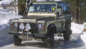 Defender 90 TD5 Land Rover 2000 LHD Never Winter Driven