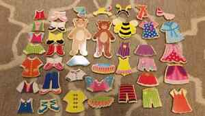 Bear Dress-up dolls