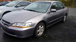 2001 Honda Accord 4CL Auto EXL