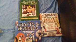 Craft and wood working books