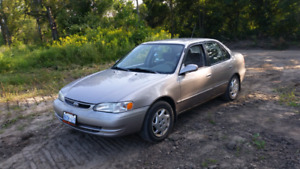 SOLD!!! 2000 Toyota Corolla LE (EMISSIONS TESTED)!!!