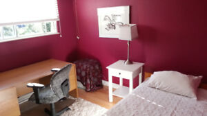 Bright, Clean, centrally located furn. room avail Aug. 20/18