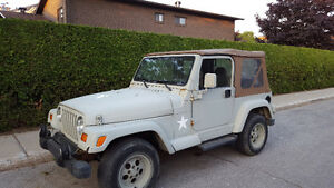 1997 Jeep TJ SUV, Crossover