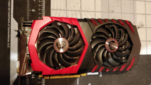 MSI RX 480 8Gb Gaming X Graphics card