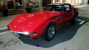 C3 CLASSIC CORVETTE - CHROME BUMPERS!