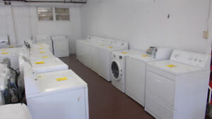 Washers and Dryers fully serviced with 90 day warranty.