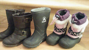Chaussures bottes souliers fille gars garcon