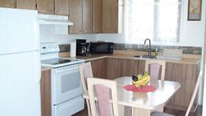 Bels et propres appartements meublés - TOUT INCLUS