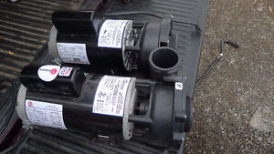 2- 5 HP Waterway EX-56 2 speed pumps for Hot Tub/Spa