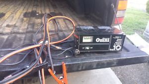 BATTERY CHARGER / JUMPER CABLES /GREASE GUN