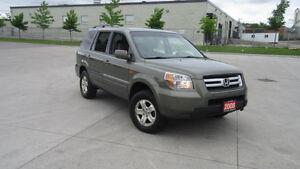 2008 Honda Pilot, 4WD, 8 Passenger, Certify, 3/Y warranty avail